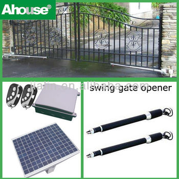 Ahouse Solar Auto Swing Gate Openers 800kg Factory Gates