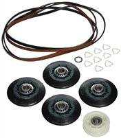 3396801 Dryer Repair Kit (4 Rollers, Belt, Idler Wheel, Clips & Washers)