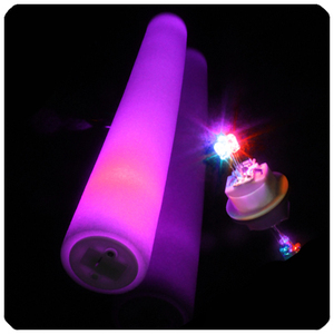 40cm costumed led glow foam sticks for party decoration / cheering / football match / concert
