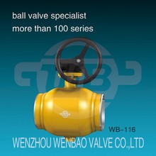 WB-116 Natural gas all welded ball valve /pipeline welded ball valve /welded ball valve supplier