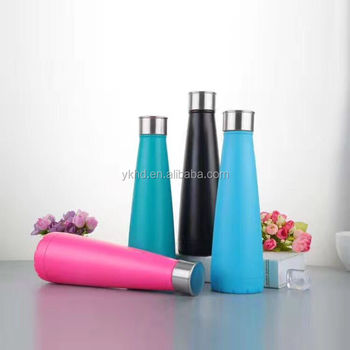 new cola bottle LFGB/FDA Certification High Quality Stainless Steel 350ML Vacuum Flask Water Bottle