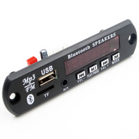 USB TF Radio BT MP3 WMA Decoder Board 12V Wireless Audio Module