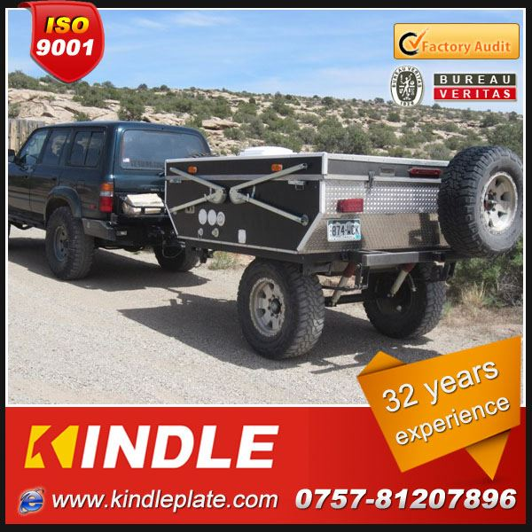 KINDLE 32 years experience offroad camping equipment trailer with tents