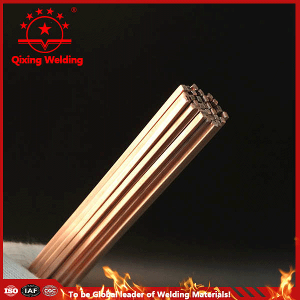 Phos Copper brazing alloys weld wire bar in heat exalterr
