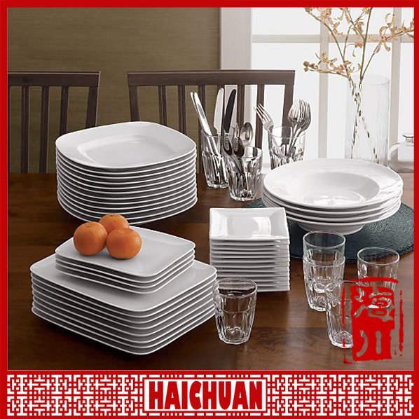 Wholesale dish,porcelain dish for restaurant,crockery for restaurant