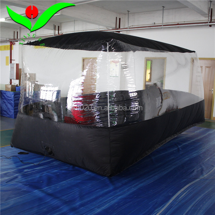 Opblaasbare gemak tent forcar Hagel Proof Auto Cover waterdichte en brandwerende voor hagel