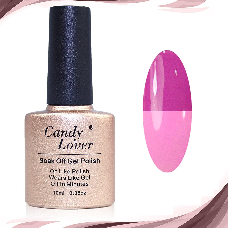 Candy Lover Color Changing Nail Polish Soak Off Gel Polish UV LED Nail Art 10ml #74