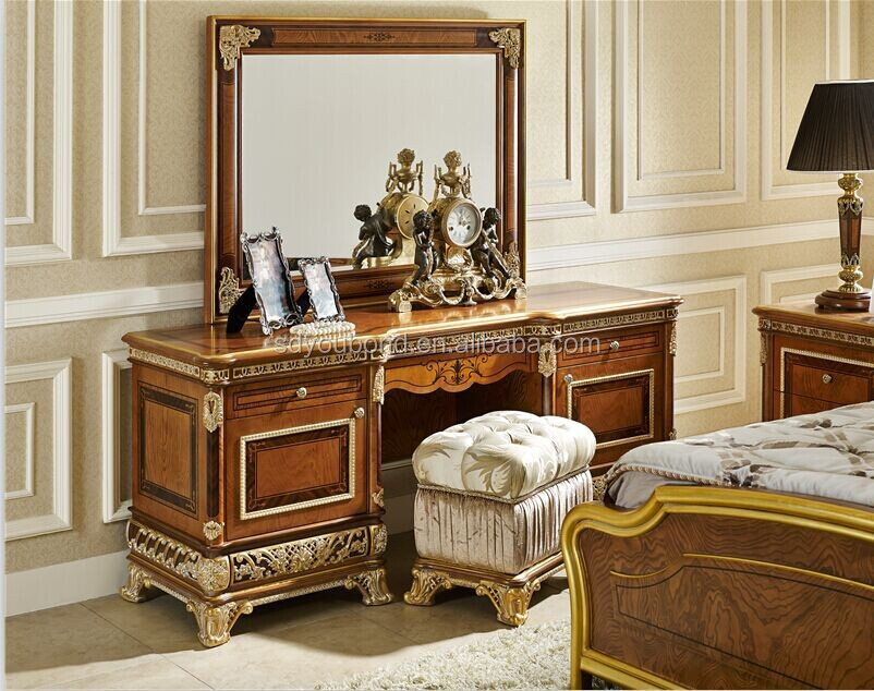 Bedroom Sets High End 0062 royal luxury bedroom furniture,golden bed,elegant wood carved