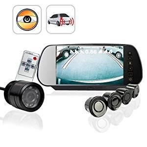 Car Reversing Set - Sensors + Rearview Camera + Rearview Screen, Sensing
