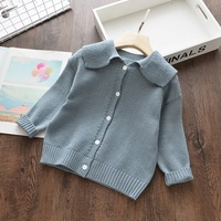 children sweater for girl cardigan plain kids lcothes wholesale boutiques baby coat ready made lots yuan546