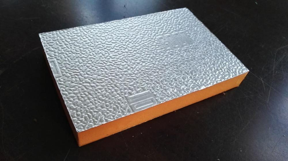 Phenolic Foam Insulation Board One Side With Gi Sheet And Aluminium Foil Buy Phenolic Foam