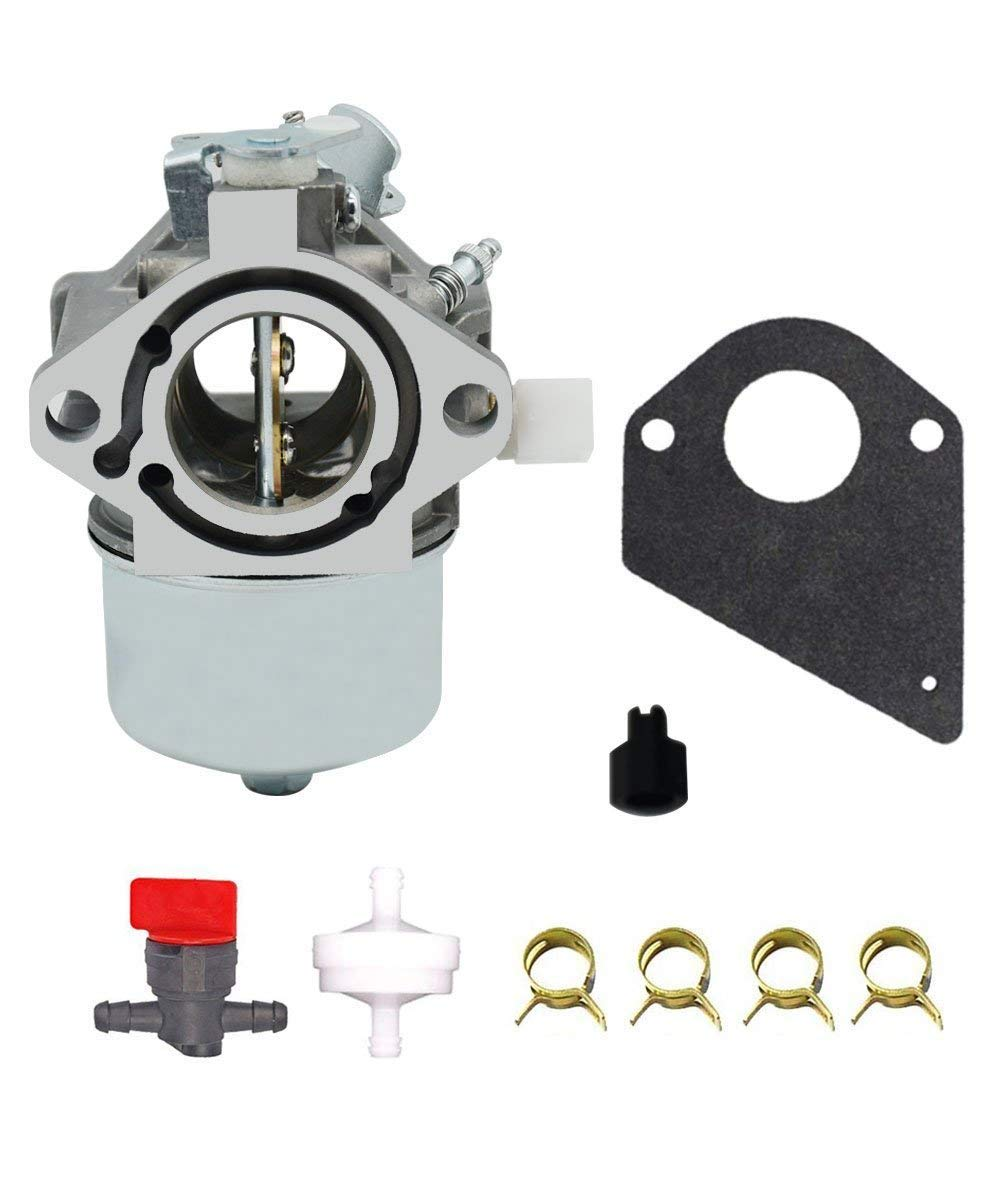 FeeTee 499158 Carburetor for Briggs & Stratton 699831 694941 499163 Lawn Mower Tractor Carb