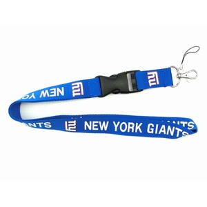 Custom Football Team New York Giants Lanyards, Supply All Kind Of Lanyards