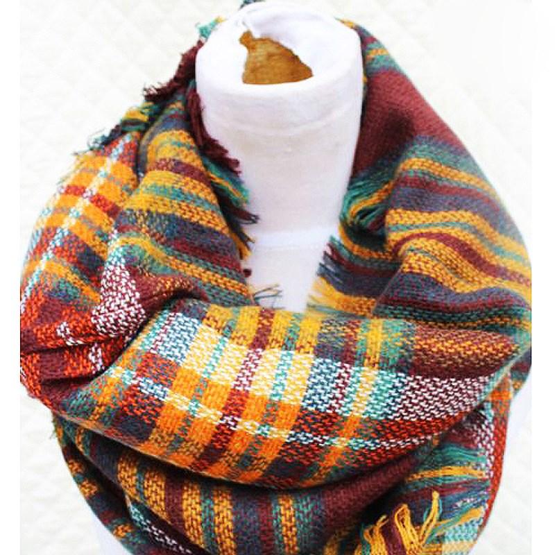 wholesale knitted custom acrylic scarf neck warmer buy