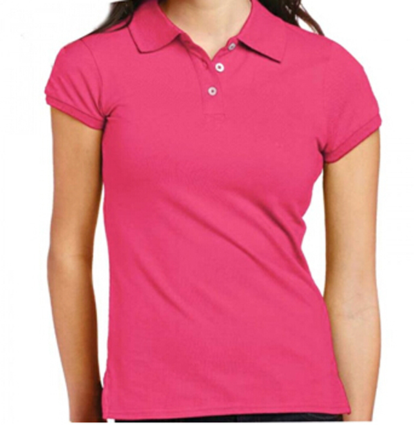 cd588de99 Custom Pink Plain Polo Shirt For Women - Buy Custom Pink Plain Polo ...