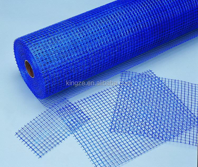 Standard colord fiberglass heat resistant plastic mesh for Is fiberglass heat resistant