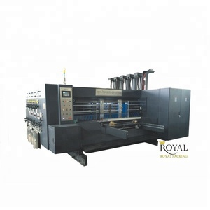 RYKM High Speed Four Colors corrugated flexo printer slotter die-cutter stacker machine