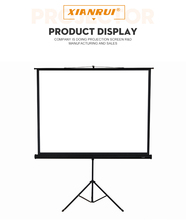 84 100 120 150 200 inch foldable portable outdoor tripod projector / projection screen