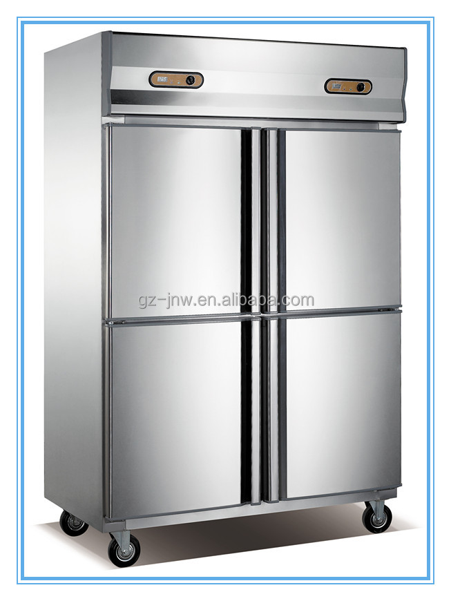 high quality guangzhou 4 doors commercial refrigerator/ kitchen equipment