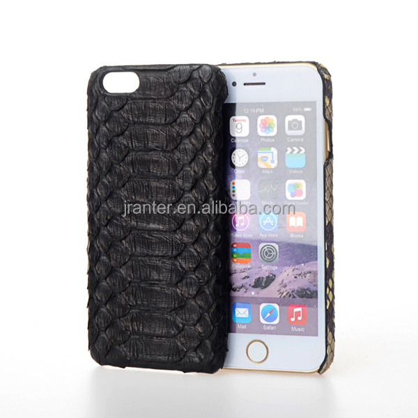 Back Cover for iPhone 6 100% Genuine Python Leather Custom Brand Name Cover