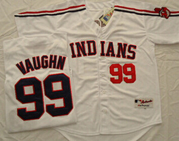 ... 99 Ricky Vaughn Jersey White Baseball Cool Base Stitched Indians Jerseys  114 Mens ... 309b5be6e