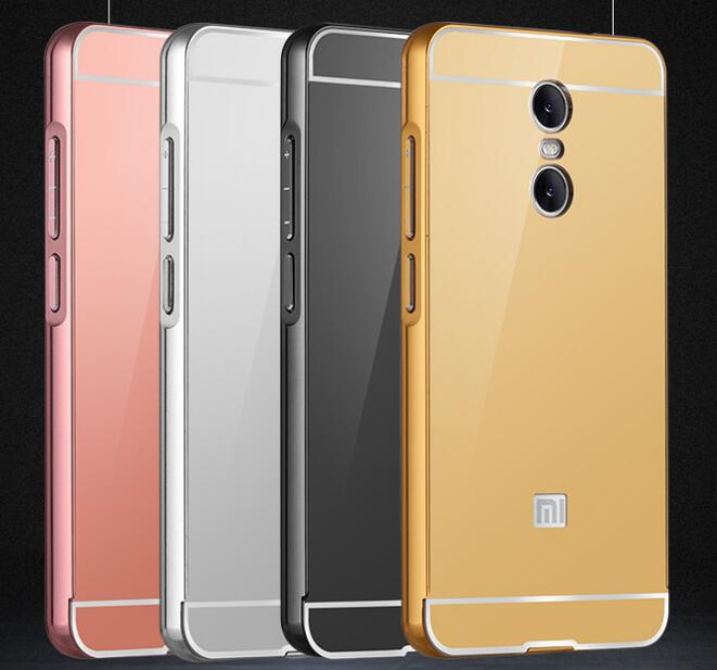 new concept 36b60 d04bc Metal Bumper Mirror Phone Case For Xiaomi Redmi Note 4,Metal Bumper Back  Cover - Buy Metal Bumper Back Cover,Mirror Phone Case For Xiaomi Redmi Note  ...