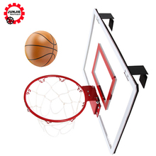 PC <span class=keywords><strong>Basketball</strong></span> bord Mit Mini <span class=keywords><strong>Basketball</strong></span> Stahl Ring Hoop für kinder bodybuilding