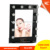 Wholesale cheap vanity makeup mirror with light, metal frame mirror with light bulbslighted makeup mirror walmart