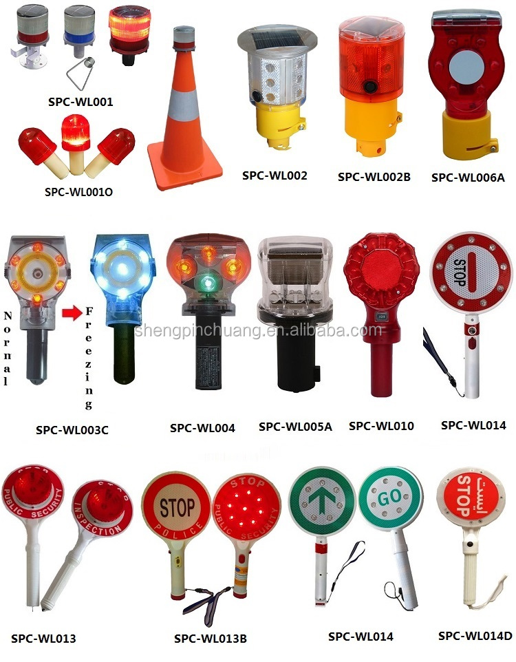 Colorful battery powered Marshal High bright traffic batons wand for safety