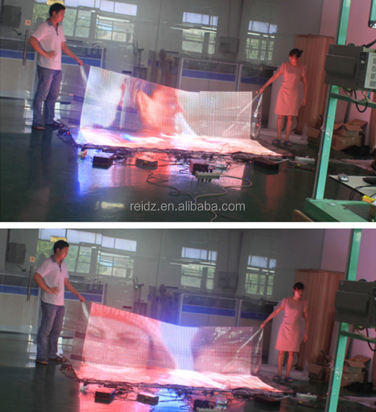 P20mm Pet Clear Platic Led Poster Displayer Video Wall Screen For ...