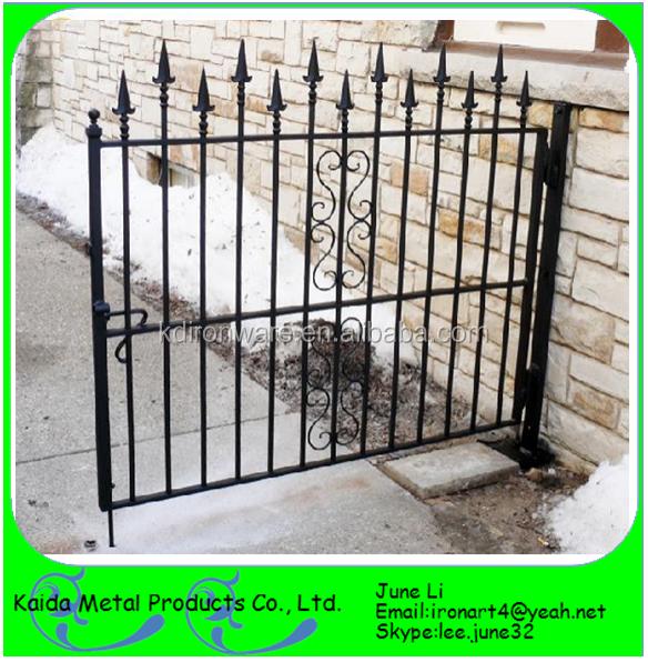 Wrought Iron House Gate Designs/sliding Gate Motor - Buy Sliding ...
