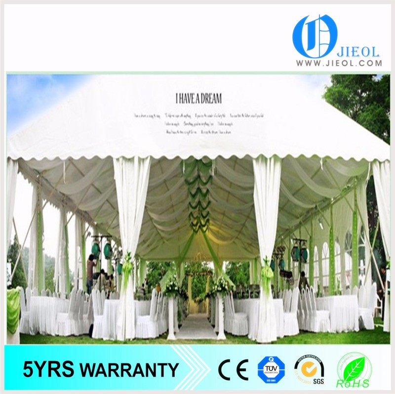 50~500 person seats large outdoor 10mX10m 20mX20m 30mX50m wedding party aluminum steel frame tent
