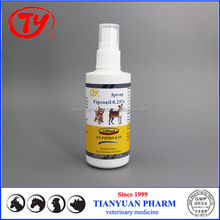 Pet Pesticide Drugs Fipronil Spray 0.25% for dogs