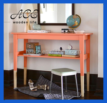 Wooden Dress Table Colorful Wooden Desk