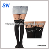 newest fashion ladies' sexy sheer cartoon tattoo tights stocking leggings