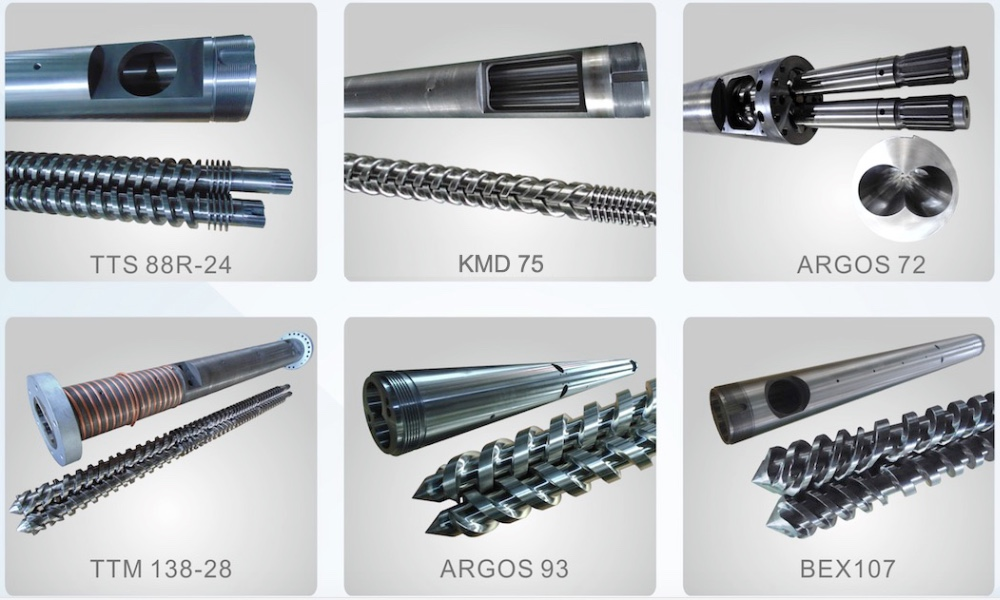38CrMoAlA twin screw barrel/pp products extrusion line screw/screw and barrel