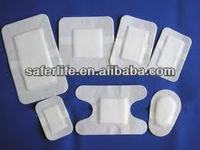 Water proof adhesive wound dresssing film dressing medical bandage padded tape