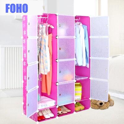 Diy Versatile Bedroom Clothes Storage Cabinet Plastic