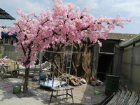 4m tall new design artificial sideways cherry blossom tree custom available centerpiece cherry orchid tree EZ09 0301