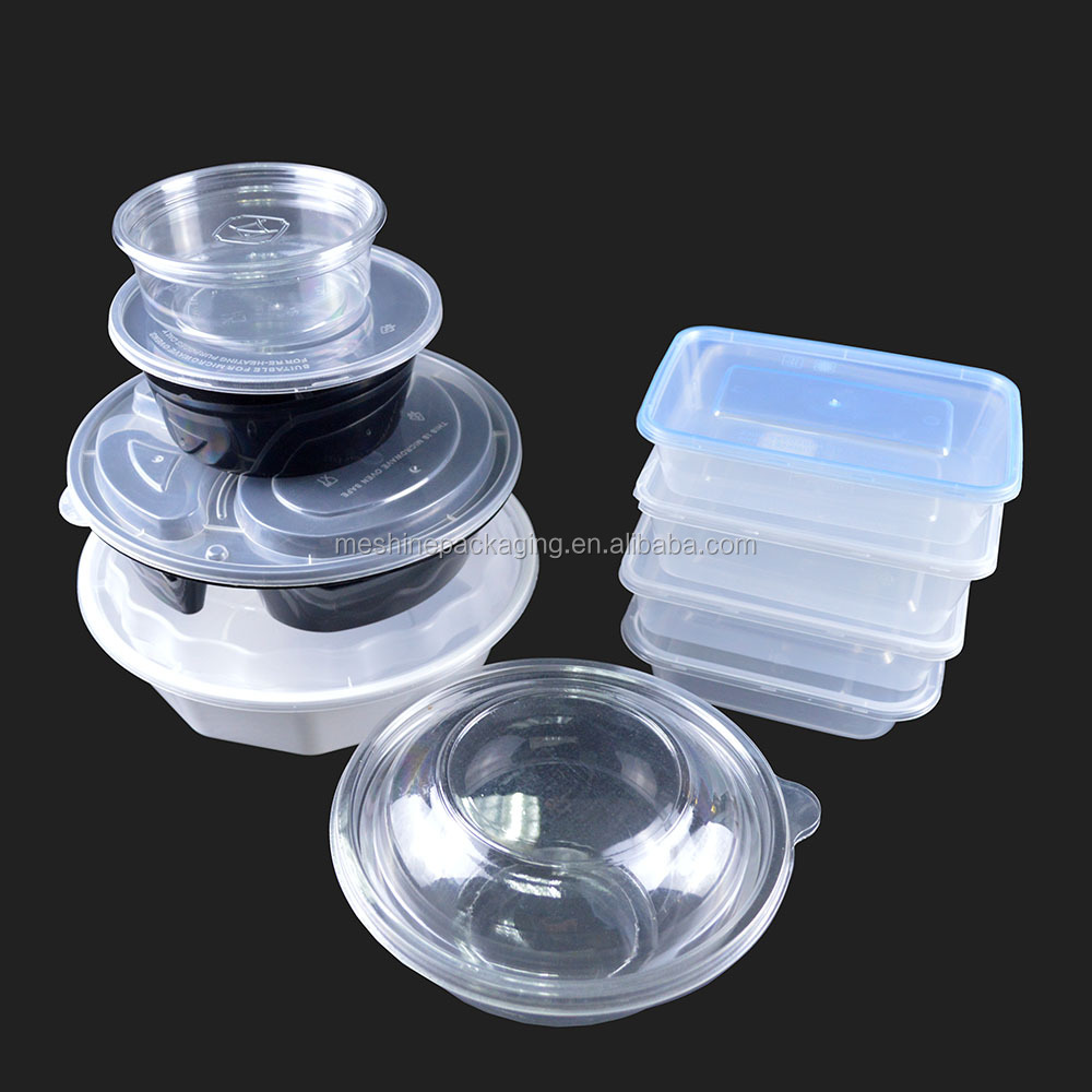 plastic storage container take away chinese food box lunch box plastic
