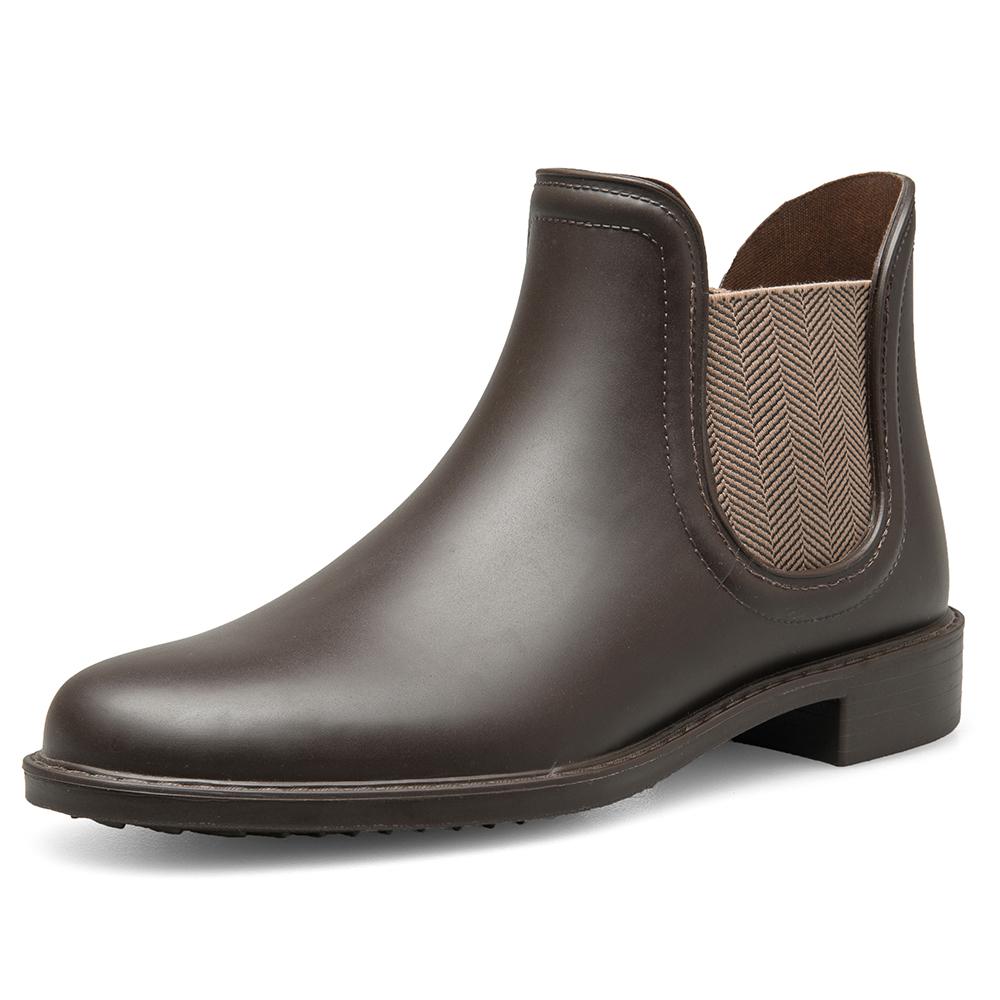 dc812c9d22f993 TONGPU haute qualité Italie style côté gor botte courte cheville femmes ...