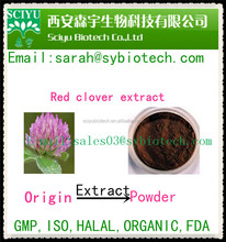 Natural health food 8%-40% isoflavones red clover extract