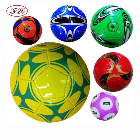 Top quality new arrival PVC machine stitched football soccer <strong>ball</strong>