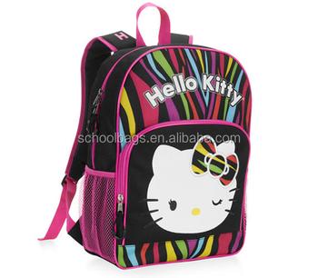 2018 Cute Hello Kitty School Bag Trendy Kids Girls Backpack - Buy ... 4953d3667f94b