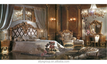 AAS820  Nouveau Ornate Luxury Design Brass Decorated Bedroom Furniture   Exquisite Wood Carved Button TuftedAas820  Nouveau Ornate Luxury Design Brass Decorated Bedroom  . Ornate Bedroom Furniture. Home Design Ideas