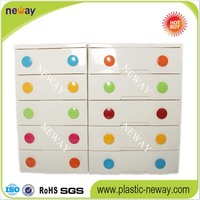 Hot Sales Recycling Plastic cabinet storage organizer