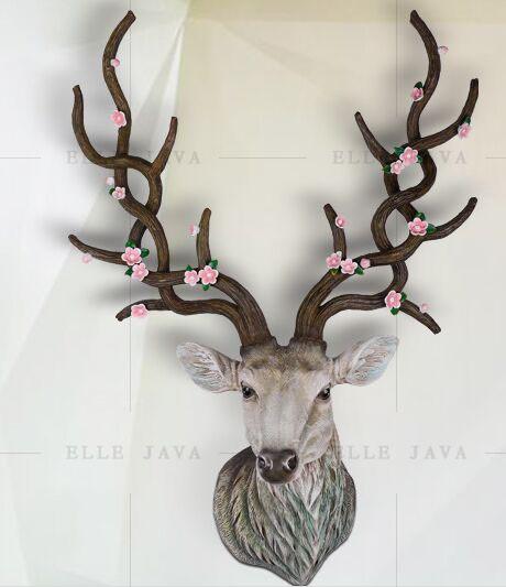 Chrimas Gift Deer Head On The Wall Home Decor Buy Deer