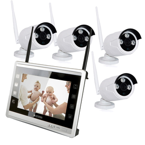 10-inch LCD Monitor HD Wireless DVR Video Security System,960P security camera system outdoor security camera system wireless