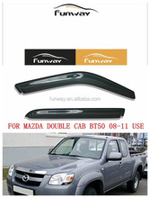 MAZDA DOUBLE CAB BT50 2008- 2011 CAR DOOR VISOR RAIN DEFLECTOR
