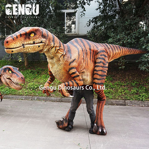 Customize Dinosaur Mask Silicon Rubber Dinosaur Costume